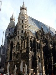 photo, imagine of stephansdom st. stephens cathedral west, 20 kB